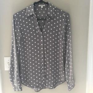 Polka Dot Express Portfino Shirt XS